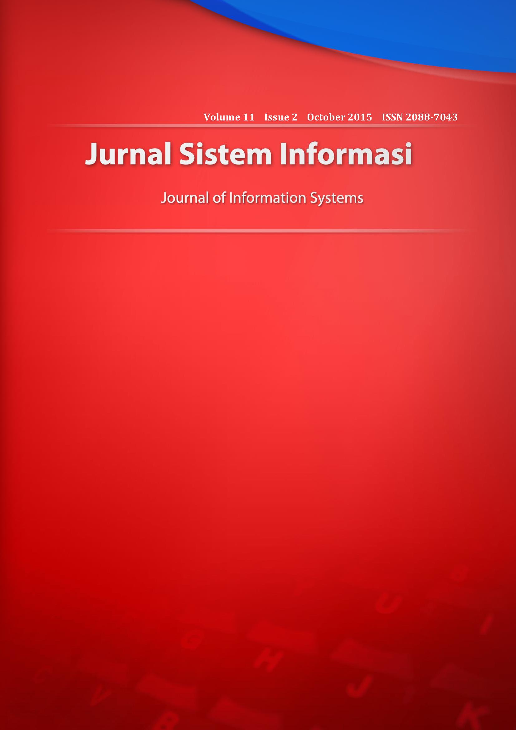 Jurnal Sistem Informasi